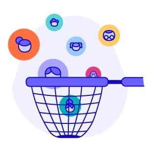 Customer database leads in net