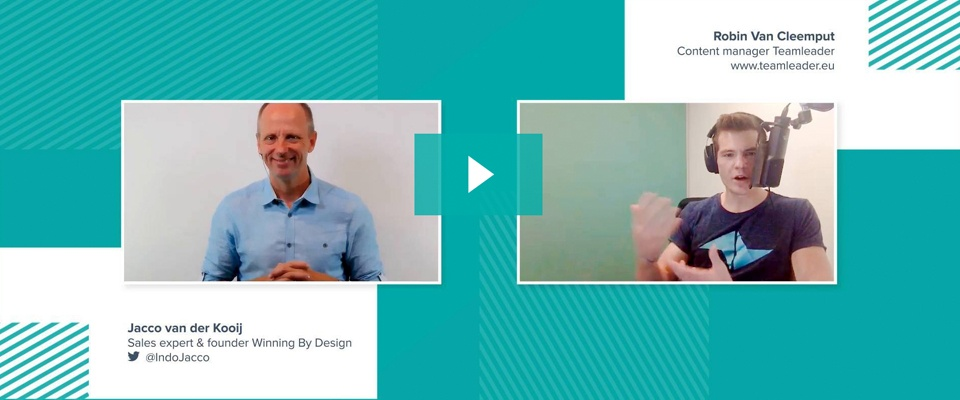 [Video] Customer-centric selling with Jacco Vanderkooij