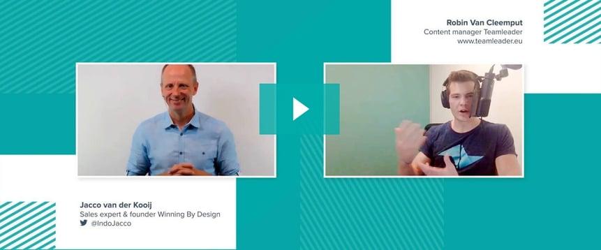 [Video] Customer-centric selling with Jacco Van der Kooij
