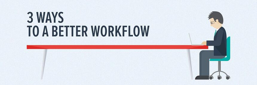 Infographic: how to build a better workflow