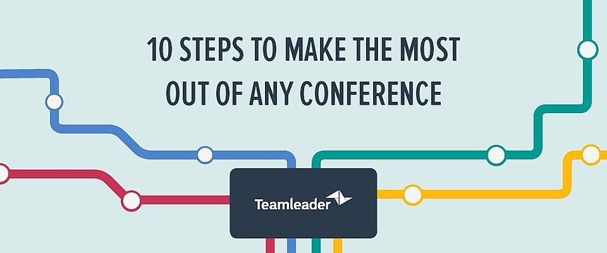 Infographic: 10 steps to make the most out of any conference