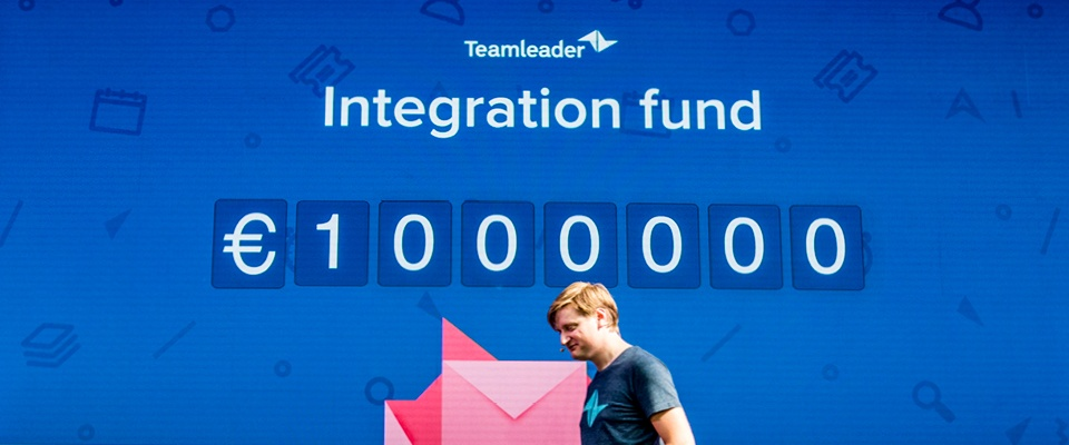 Teamleader launches Integration Fund of 1 million EUR