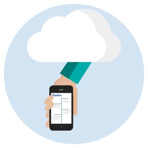 Mobile app crm