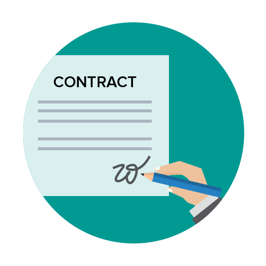 Contract subscription