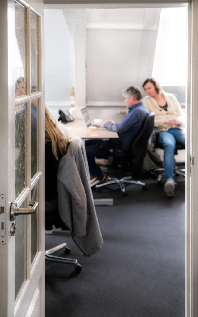 Binnenkijkje kantoor