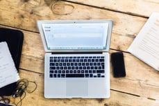 Bureau laptop