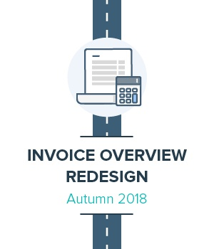 Invoice overview redesign